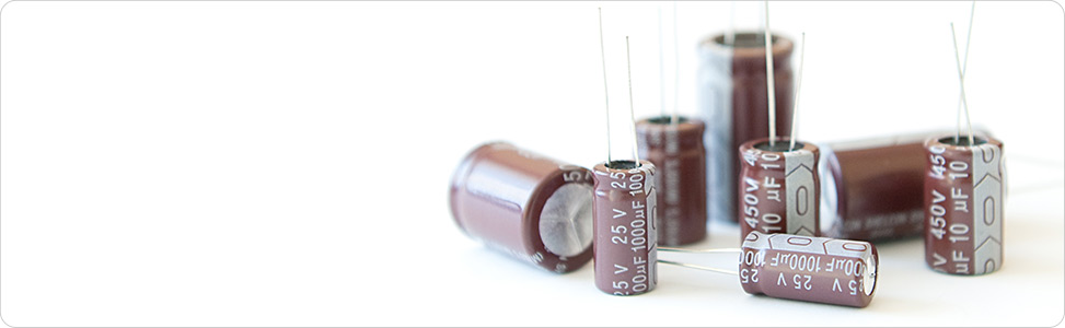 <strong>Electrolytic capacitors</strong> Shelcon