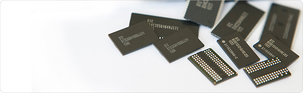 <strong>DRAM chips</strong> DELSON
